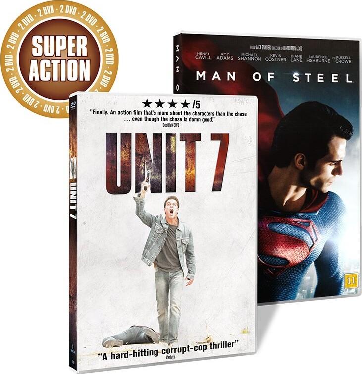 Image of   Man Of Steel // Unit 7 - DVD - Film