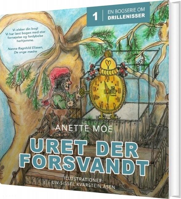 Uret Der Forsvandt - Anette Moe - Bog