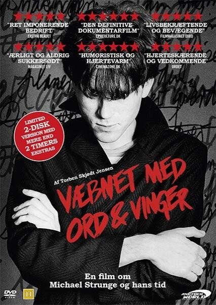 Billede af Væbnet Med Ord & Vinger - Film Om Michael Strunge - DVD - Film