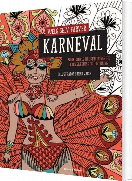 Vælg Selv Farver - Karneval - Sarah Walsh - Bog