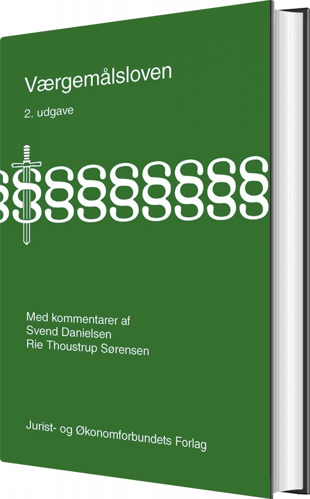 Værgemålsloven - Rie Thoustrup Sørensen - Bog