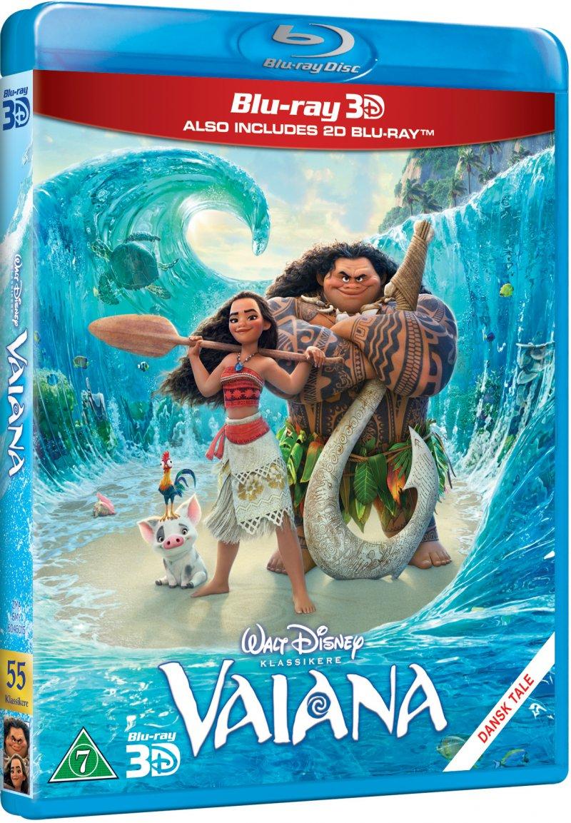 Image of   Vaiana / Moana - Disney - 3D Blu-Ray