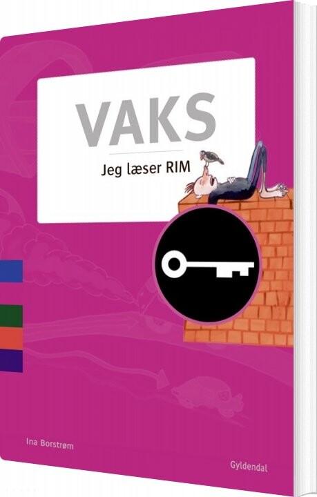 Image of   Vaks - Jeg Læser. Rim - Ina Borstrøm - Bog