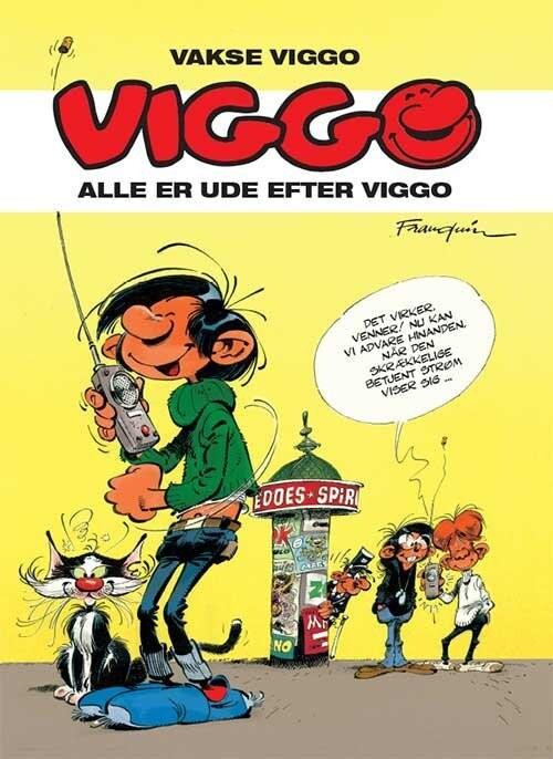 Billede af Vakse Viggo: Alle Er Ude Efter Viggo - Franquin - Tegneserie