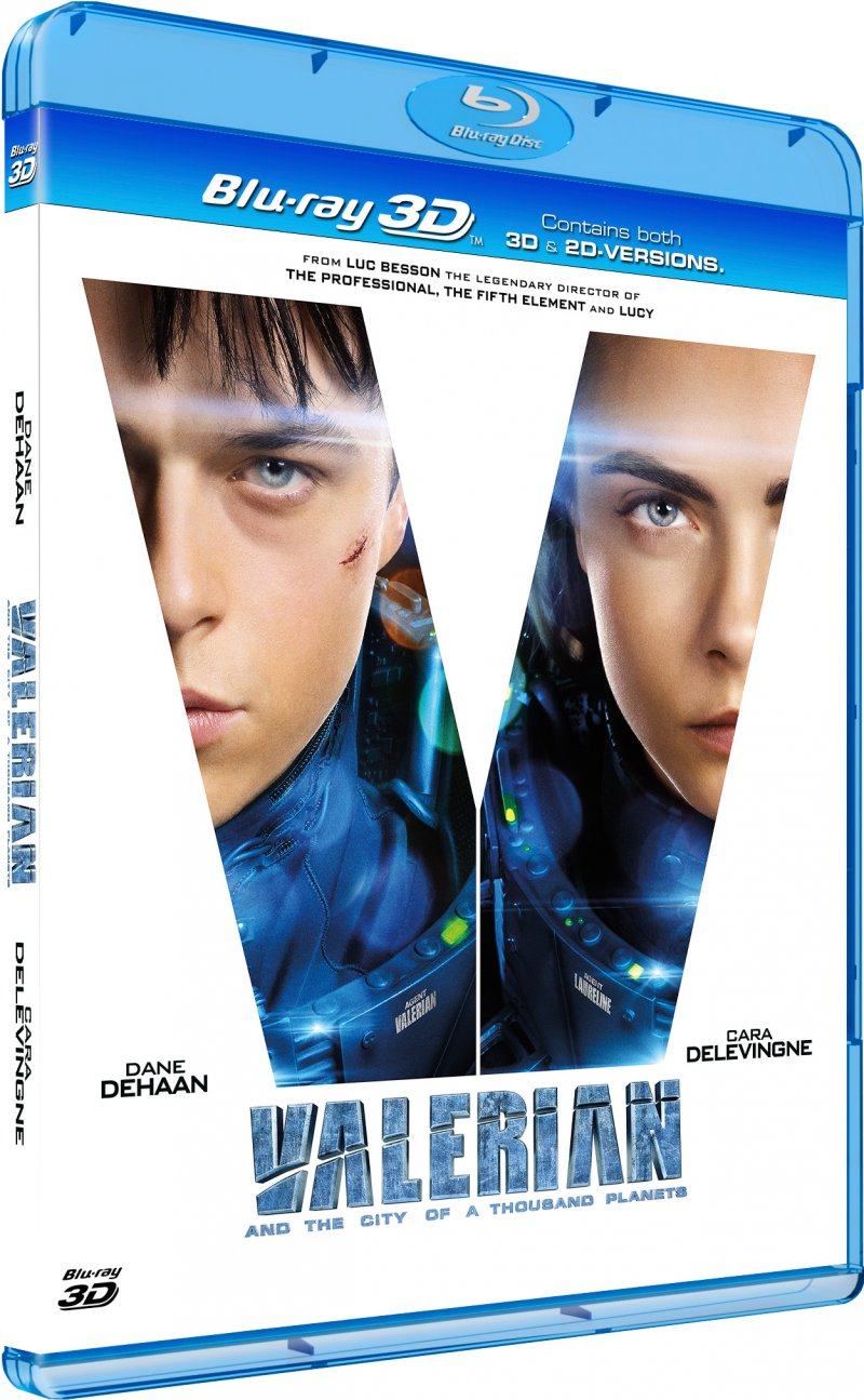 Billede af Valerian And The City Of A Thousand Planets - 3D Blu-Ray