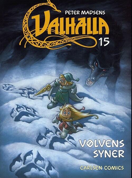 Valhalla 15: Vølvens Syner - Peter Madsen - Tegneserie