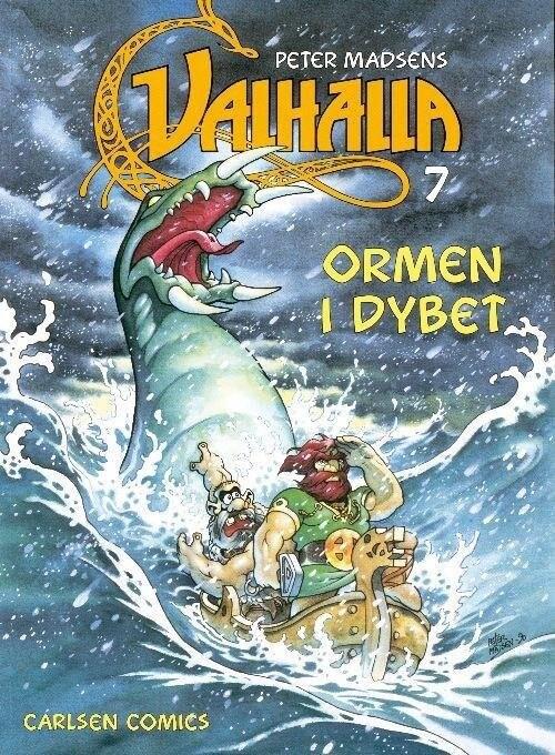 Valhalla 7: Ormen I Dybet - Peter Madsen - Tegneserie