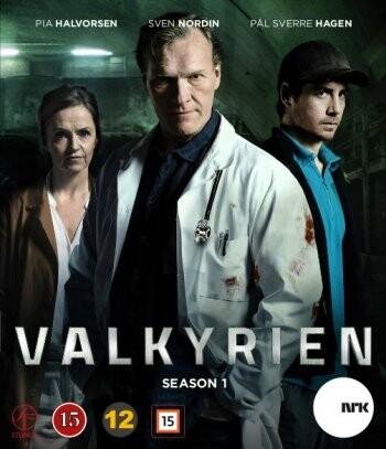 Image of   Valkyrien - Sæson 1 - DVD - Tv-serie