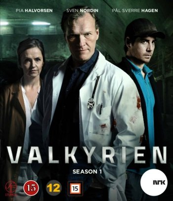 Image of   Valkyrien - Sæson 1 - DVD - Tv-serie