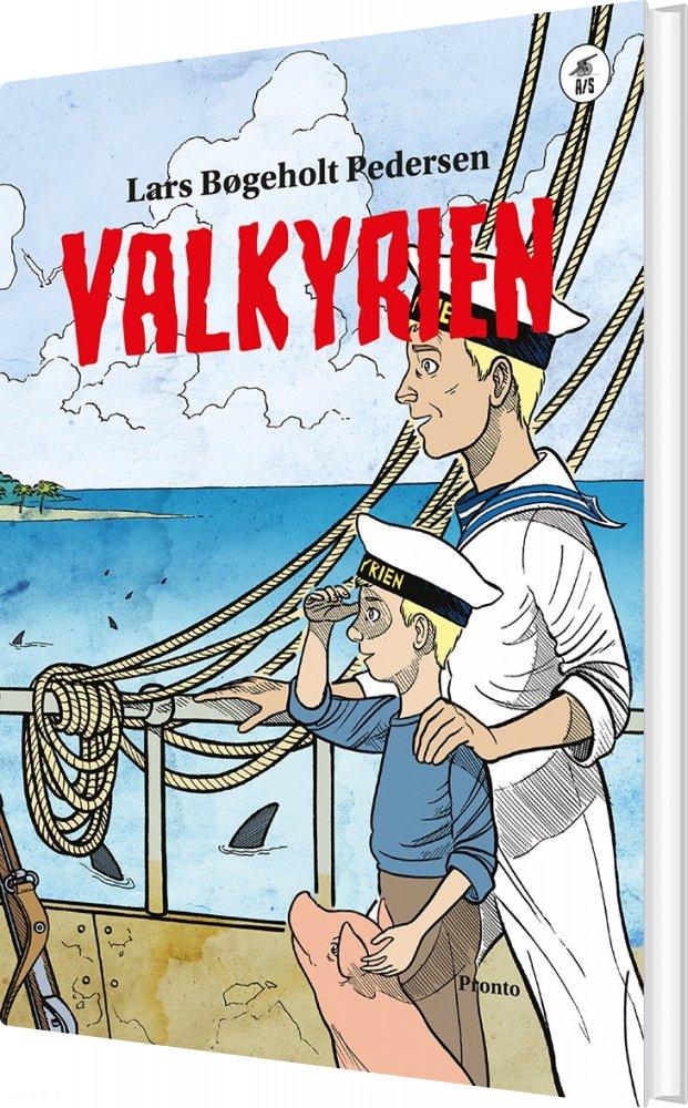 Image of   Valkyrien - Lars Bøgeholt Pedersen - Bog