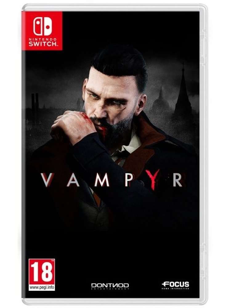 Image of   Vampyr - Nintendo Switch