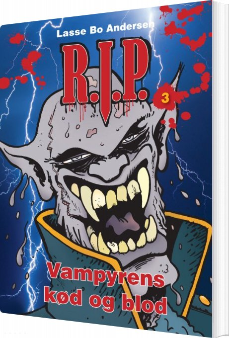 Vampyrens Kød Og Blod - Lasse Bo Andersen - Bog