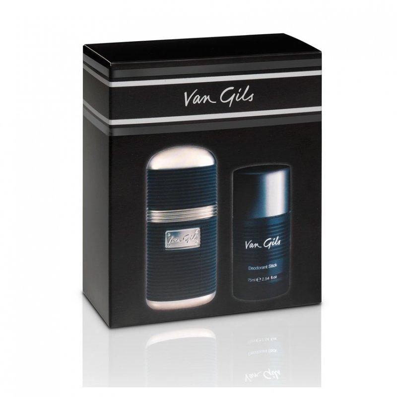 Image of   Gaveæske: Van Gils Strictly For Men Aftershave 50 Ml & Deodorant Stick 75 Ml