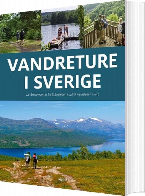 Vandreture I Sverige - Jørgen Hansen - Bog