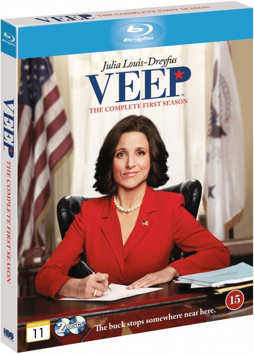 Image of   Veep - Sæson 1 - Hbo - Blu-Ray - Tv-serie