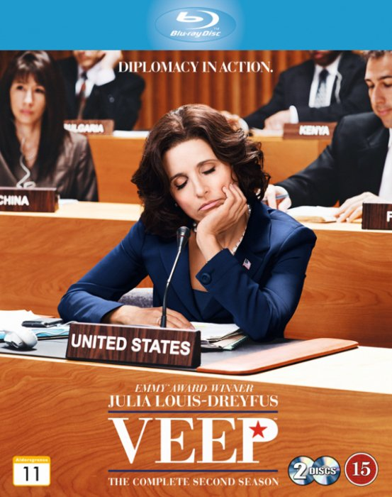 Image of   Veep - Sæson 2 - Hbo - Blu-Ray - Tv-serie