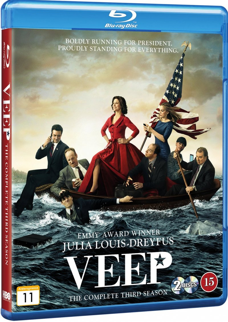 Image of   Veep - Sæson 3 - Hbo - Blu-Ray - Tv-serie