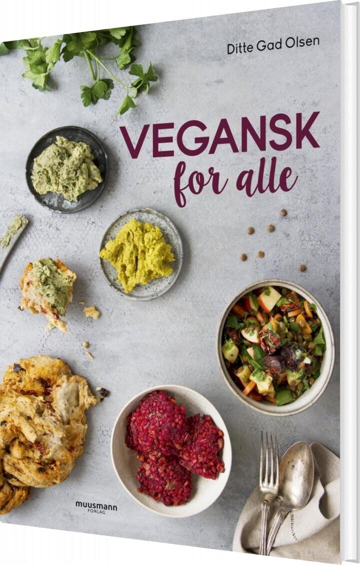 Vegansk For Alle - Ditte Gad Olsen - Bog
