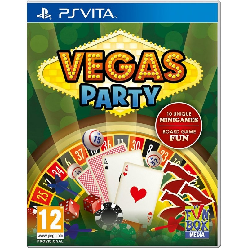 Image of   Vegas Party - Ps Vita