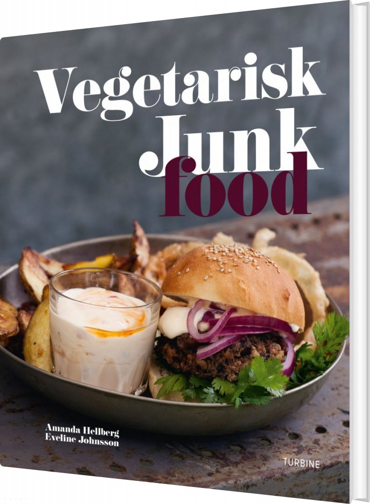 Vegetarisk Junk Food - Amanda Hellberg - Bog
