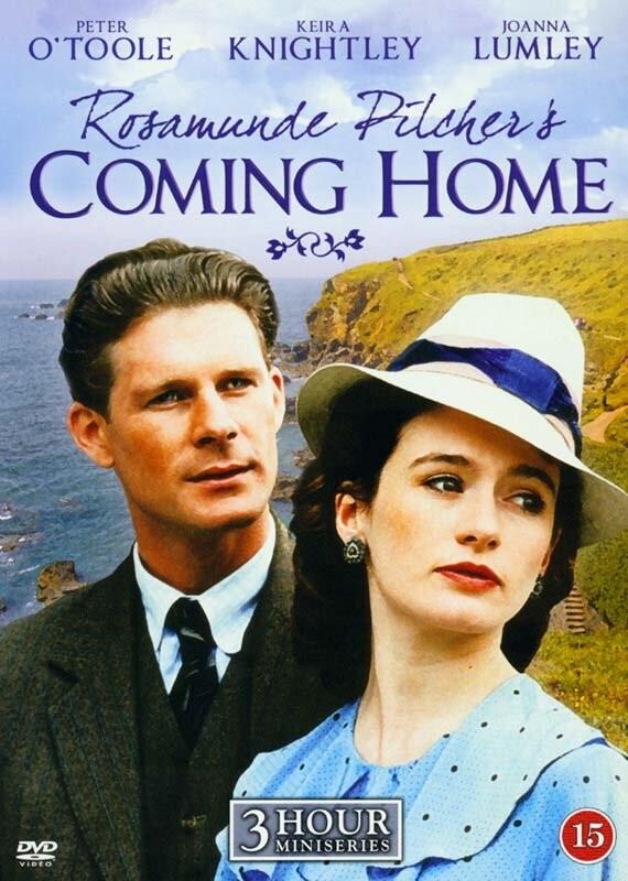 Vejen Hjem - Rosamunde Pilcher - Miniserie  - DVD - Tv-serie