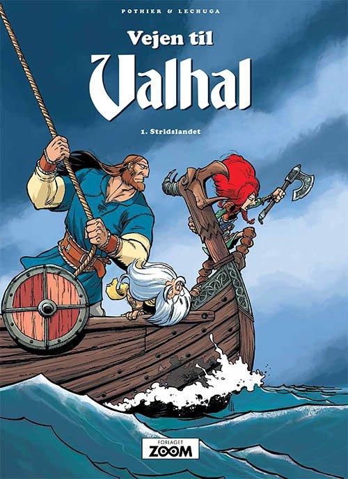 Billede af Vejen Til Valhal 1: Stridslandet - Pothier - Tegneserie
