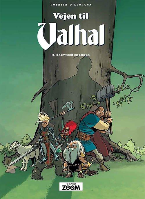 Billede af Vejen Til Valhal 2: Sherwood Og Omegn - Pothier - Tegneserie