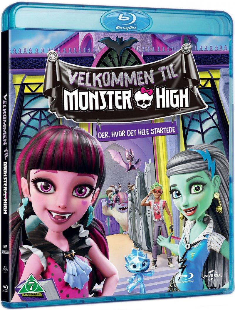 Image of   Velkommen Til Monster High / Welcome To Monster High - Blu-Ray