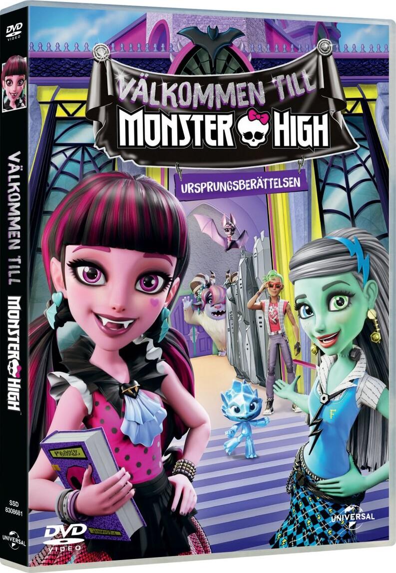 Image of   Velkommen Til Monster High / Welcome To Monster High - DVD - Film