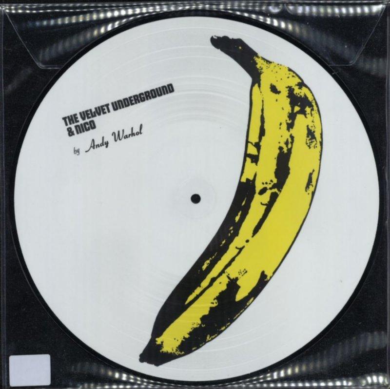 Image of   Andy Warhol - Velvet Underground Nico - Picture Vinyl - Vinyl / LP