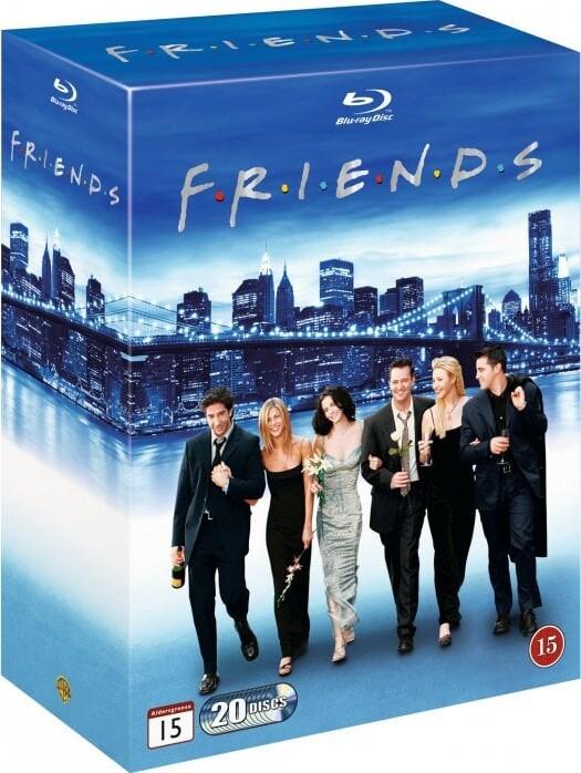 Image of   Venner - Den Komplette Samling - Blu-Ray - Tv-serie