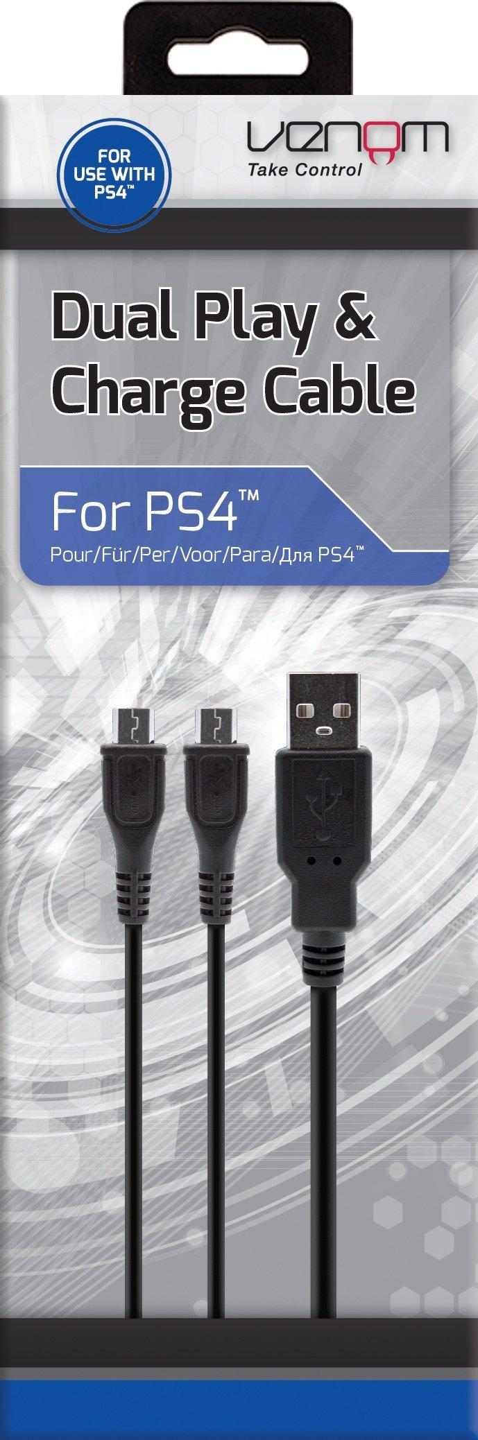 Venom Ps4 Dual Ladekabel