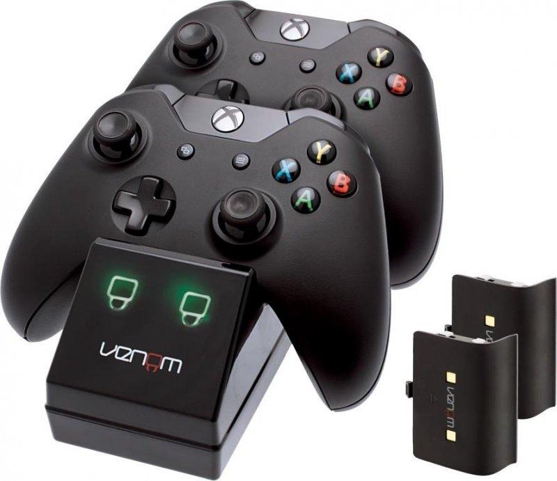 Image of   Venom Xbox One Controller Charge Station Med Batteripakke