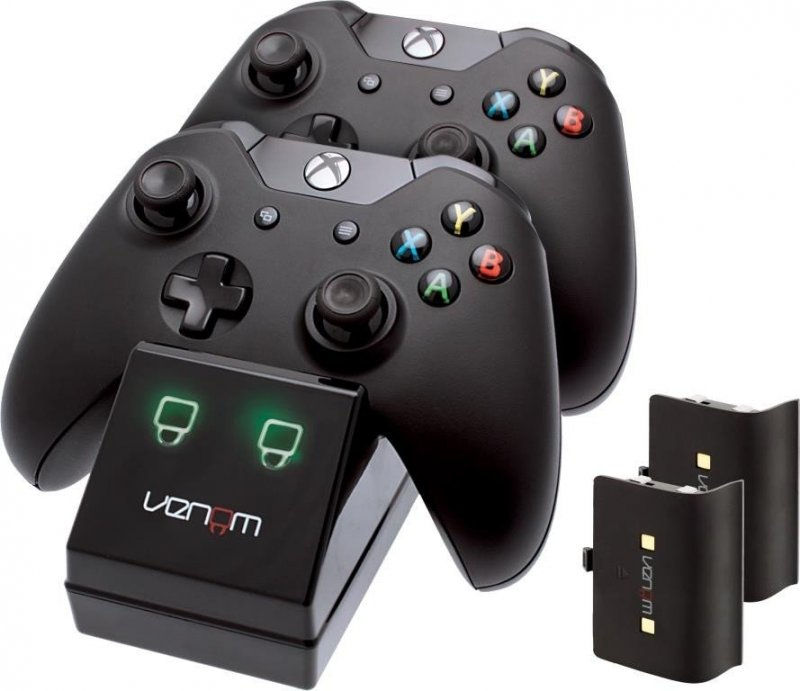 Image of   Venom Xbox One Controller Charge Station Med Batteripakke