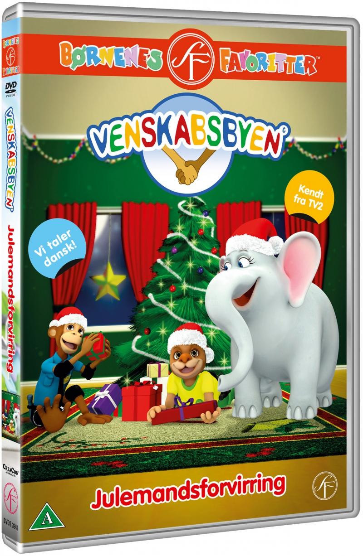 Image of   Venskabsbyen - Julemandsforvirring - DVD - Film