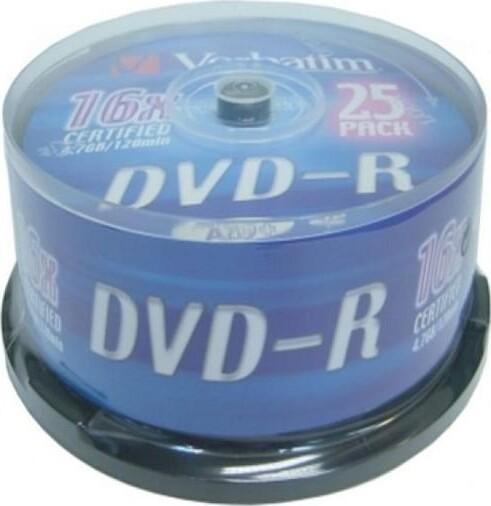 Maxell DVD-R 4,7GB (16x) - 10 stk - Rød