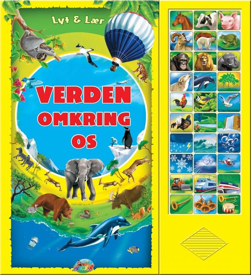 Image of   Verden Omkring Os (med 30 Lyde) - Diverse - Bog