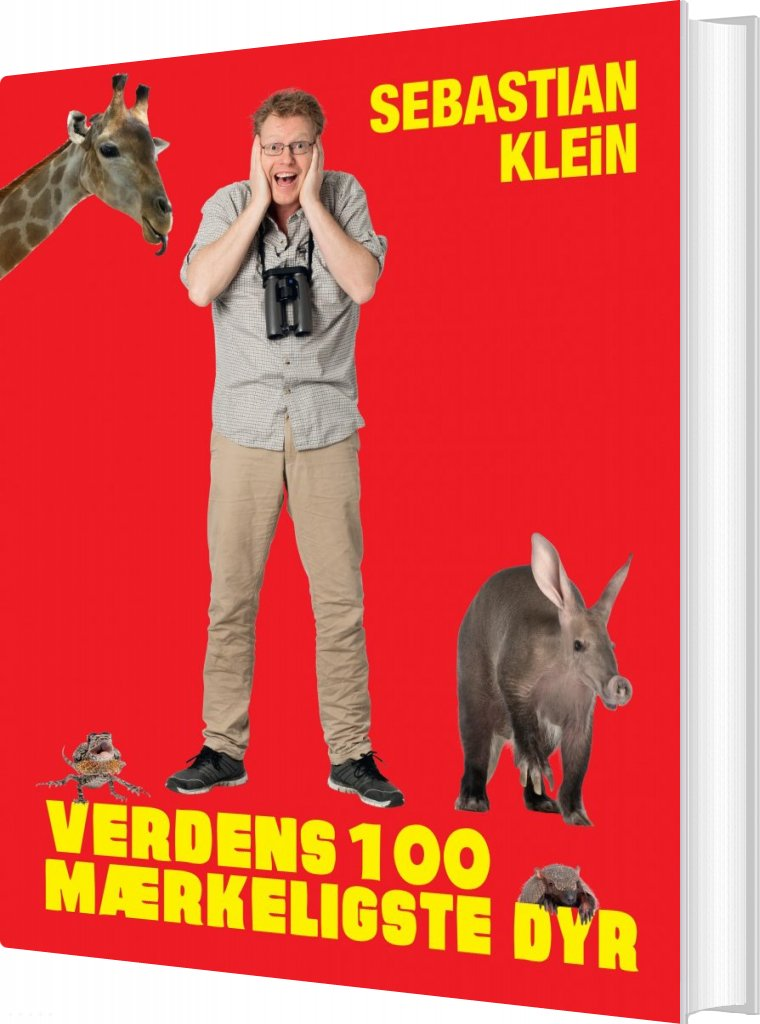 Billede af Verdens 100 Mærkeligste Dyr - Sebastian Klein - Bog