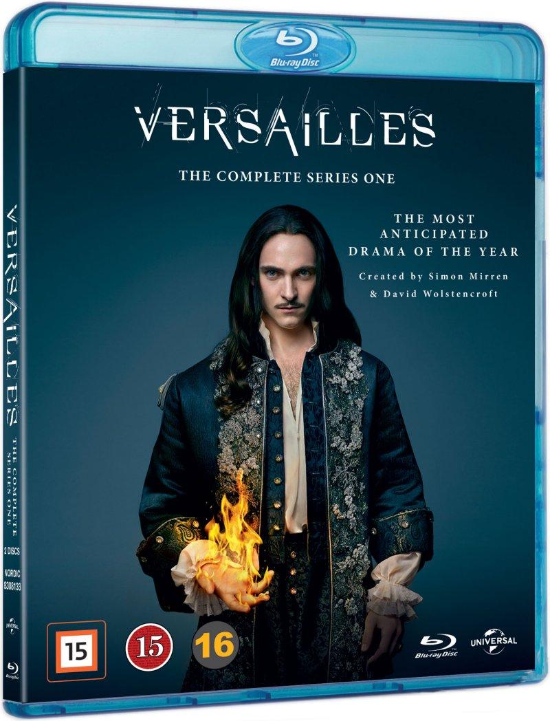 Versailles - Sæson 1 - Blu-Ray - Tv-serie