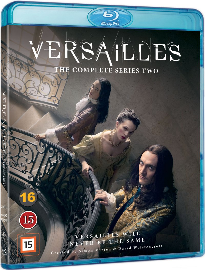 Versailles - Sæson 2 - Blu-Ray - Tv-serie