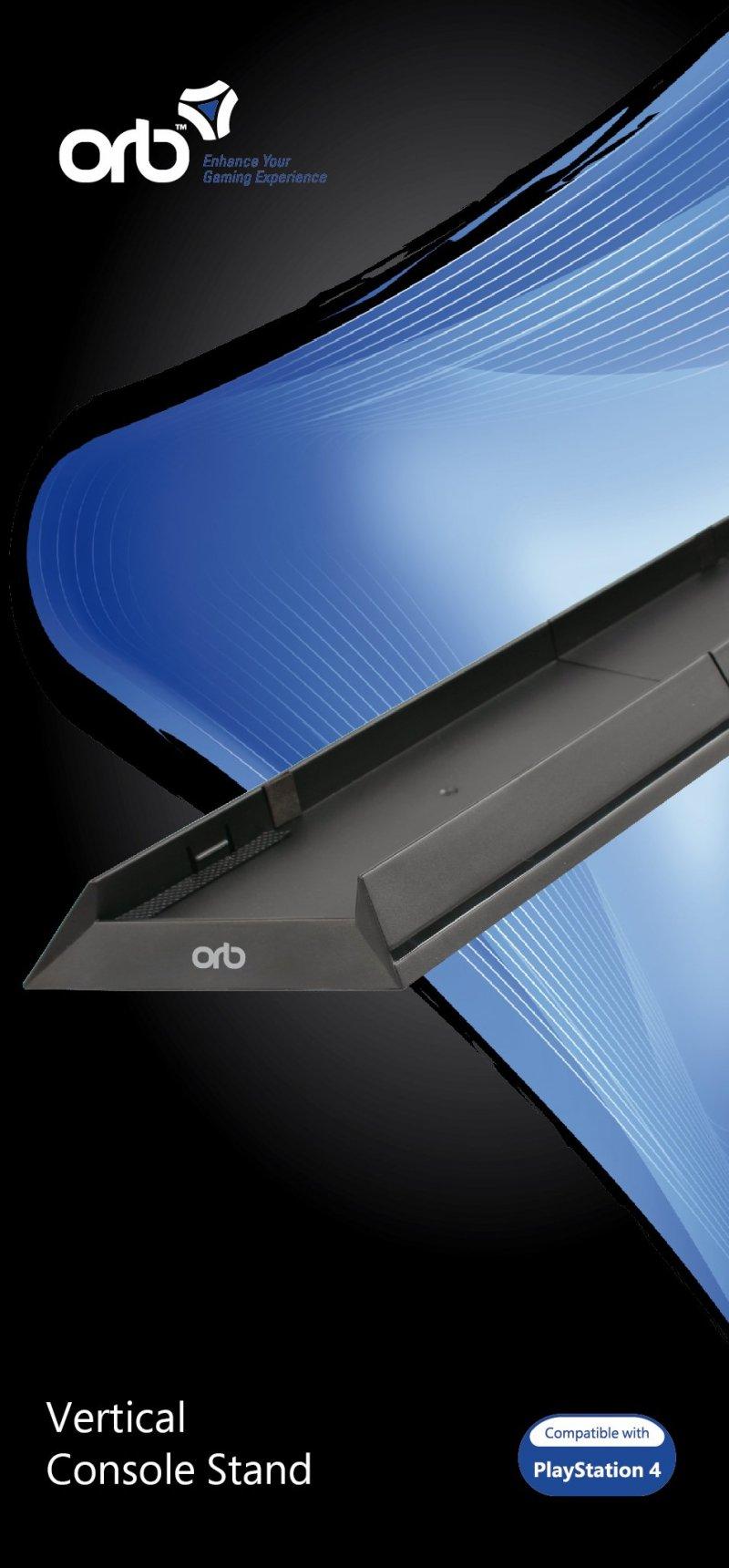 Image of   Ps4 Vertikal Stander / Fod Til Playstation 4