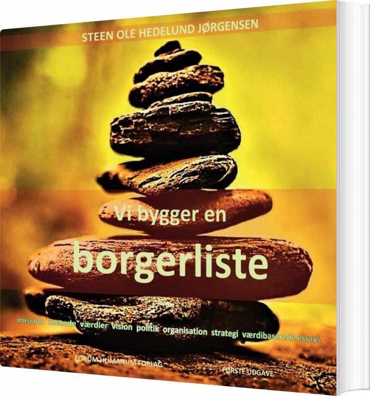 Vi Bygger En Borgerliste - Steen Ole Hedelund Jørgensen - Bog