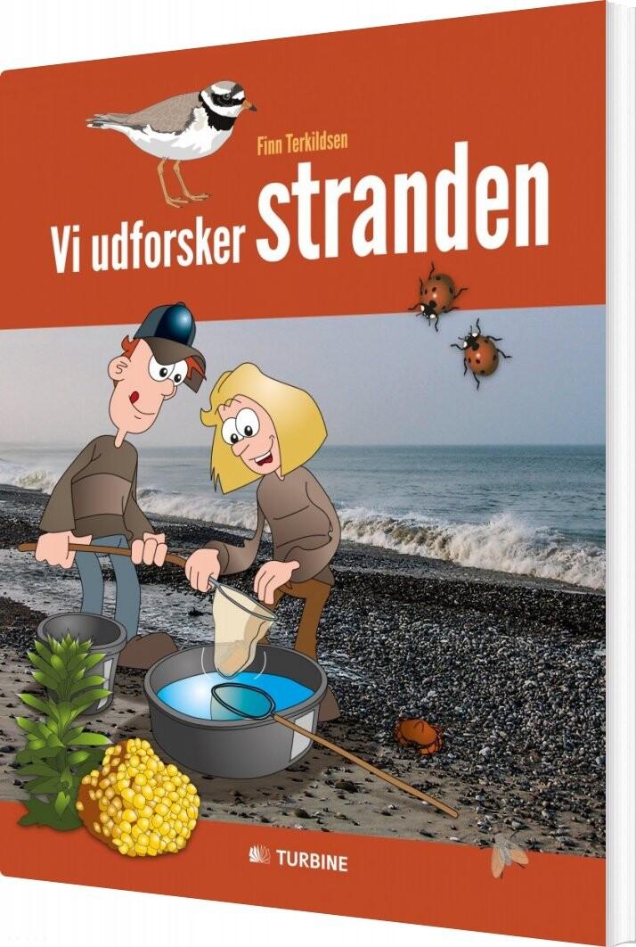 Vi Udforsker Stranden - Finn Terkildsen - Bog