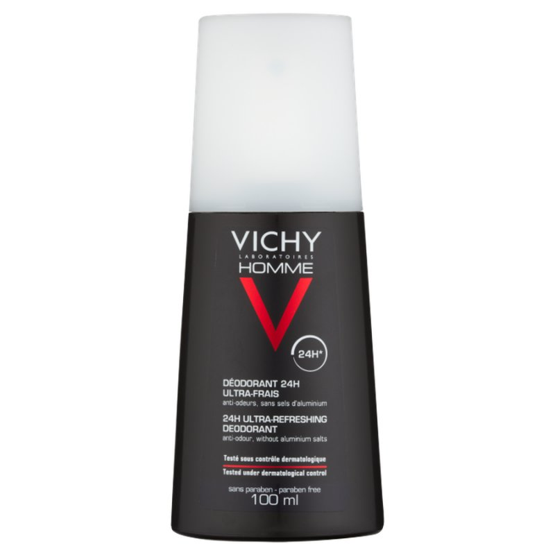 Image of   Vichy Homme Deodorant Spray - 100 Ml