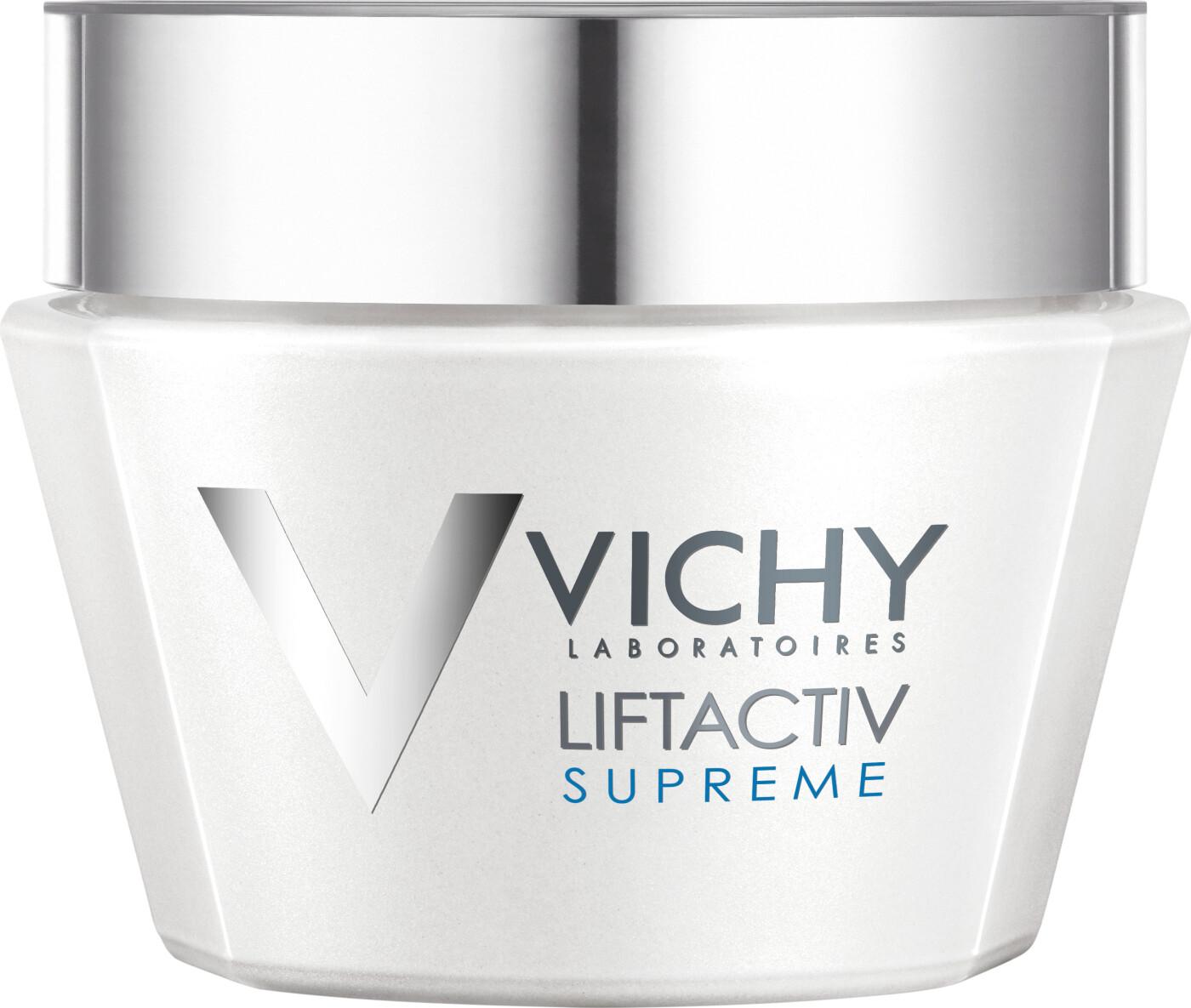 Image of   Vichy Dagcreme - Liftactiv Supreme Firming Anti-aging Cream Til Tør / Meget Tør Hud 50 Ml