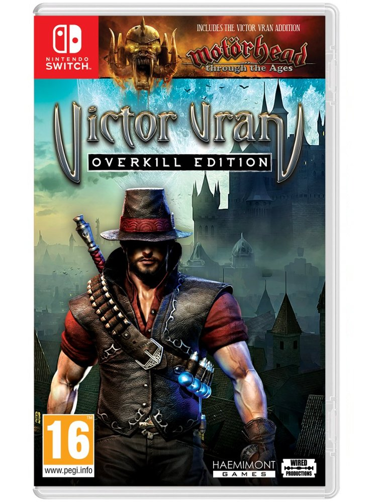Image of   Victor Vran: Overkill Edition - Nintendo Switch