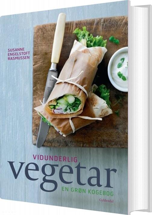 Vidunderlig Vegetar - Susanne Engelstoft Rasmussen - Bog