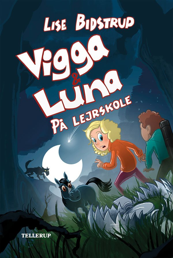 Image of   Vigga & Luna #4: På Lejrskole - Lise Bidstrup - Bog