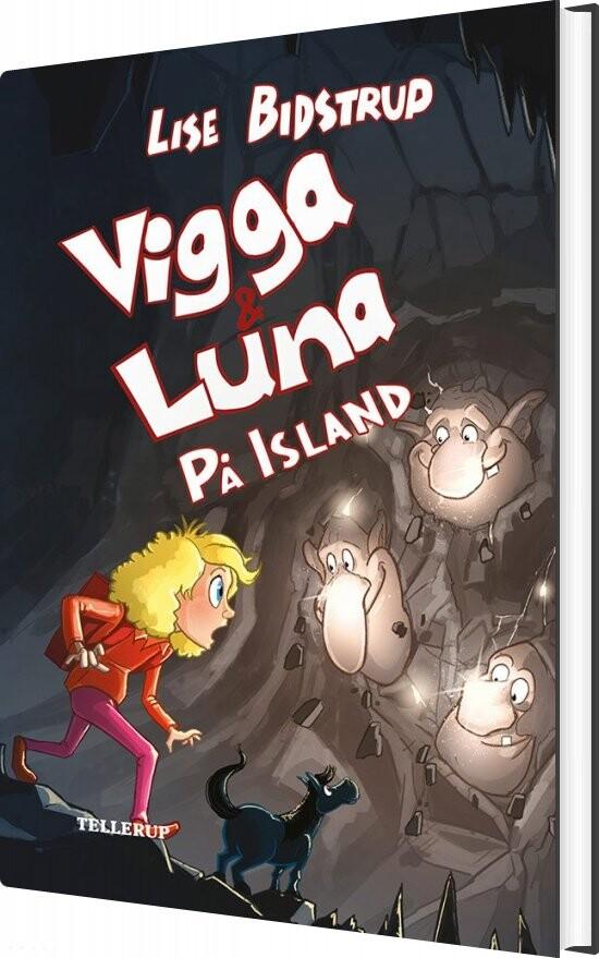 Image of   Vigga & Luna #8: På Island - Lise Bidstrup - Bog