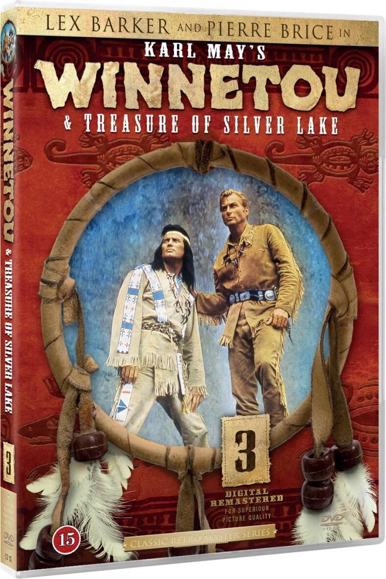 Image of   Winnetou 3 - Treasure Of Silver Lake - DVD - Film